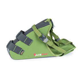 Acepac Grab Bike Pannier green/black